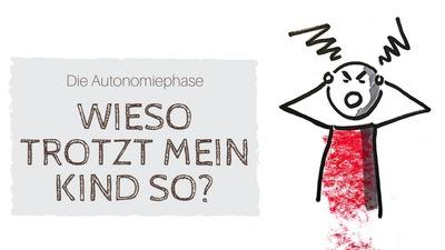 """""""Die Autonomiephase: Wieso trotz mein Kind so?"""" Zeichnung eines wütenden Kindes"""
