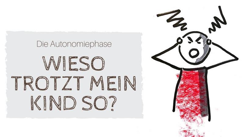 """""""Die Autonomiephase/Trotzphase: Wieso trotz mein Kind so?"""" Zeichnung eines wütenden Kindes"""