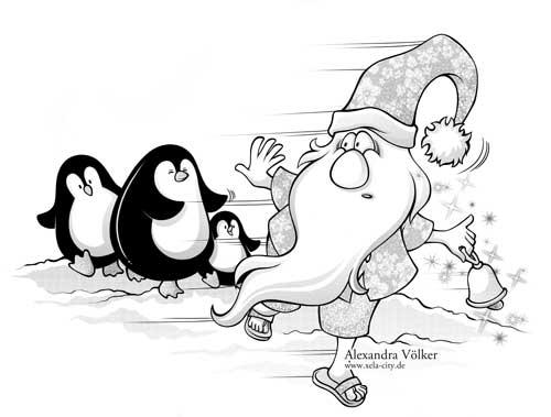 Bild eines Wichtels. Illustration Alexandra Völker
