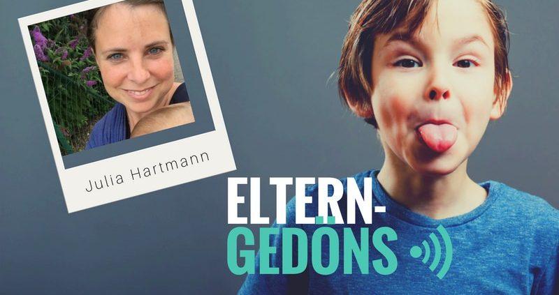 Podcast Eltern-Gedöns: Julia Hartmann im Interview