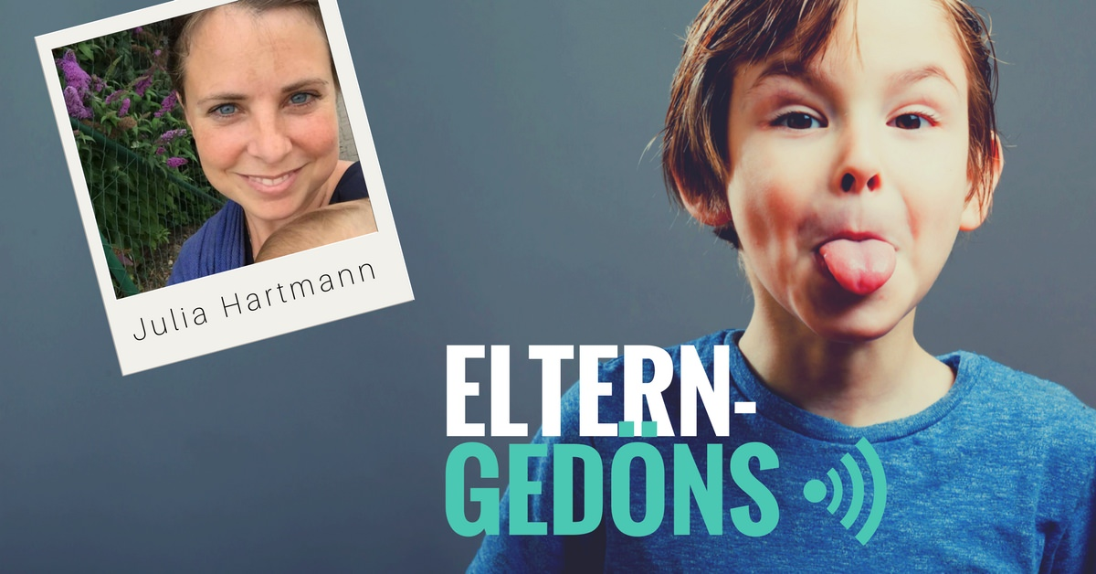 Podcast Eltern-Gedöns: Julia Hartmann im Interview