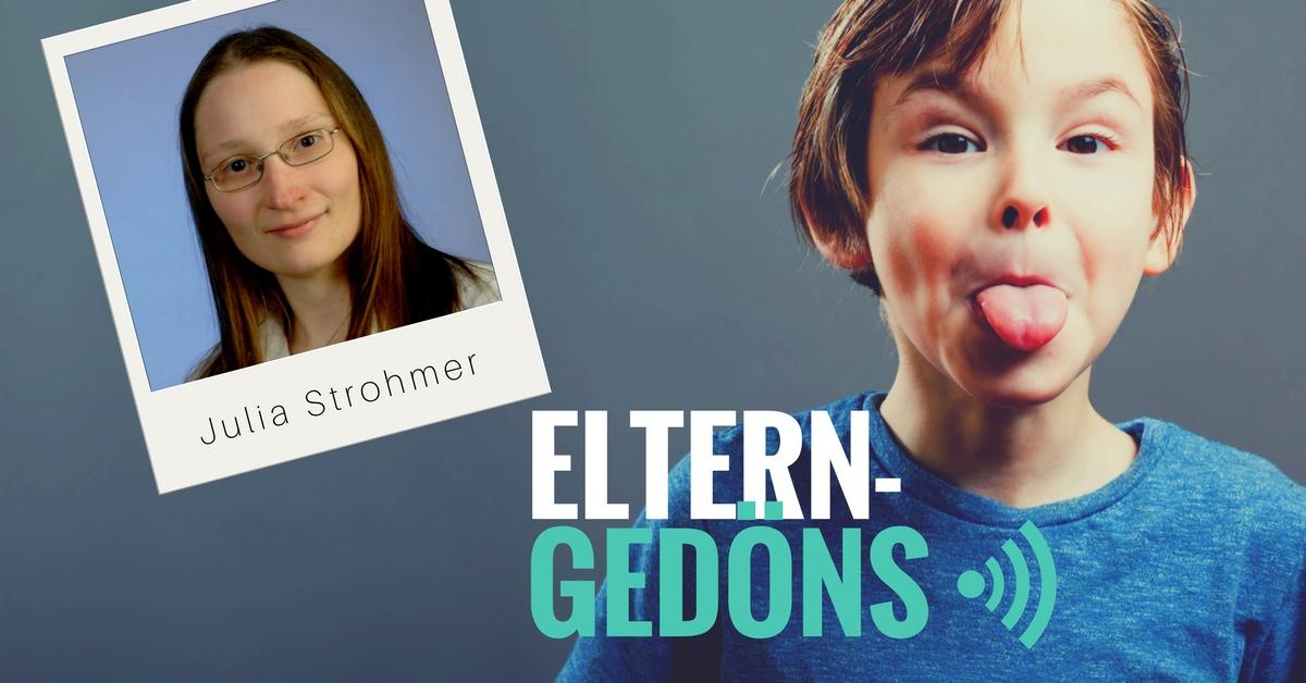 Podcast Eltern-Gedöns: Julia Strohmer im Interview