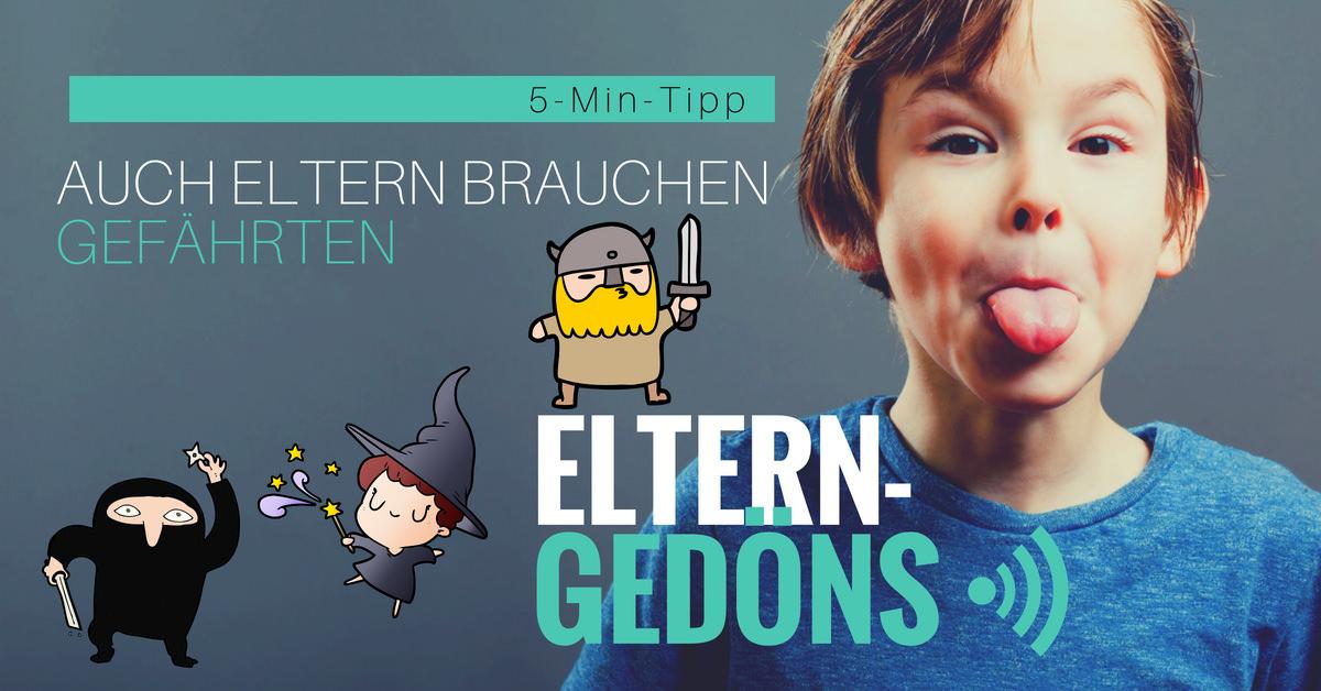 Auch wir Eltern brauchen Gefährten – Der Eltern-Gedöns-Podcast mit Christopher End