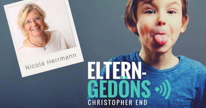 Nicola Herrmann: Einfach zuckerfrei leben mit Kindern |Eltern-Gedöns-Podcast mit Christopher End