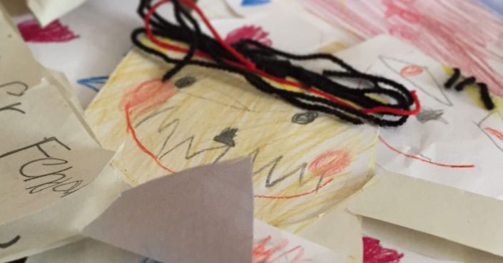 Kunstwerke von Kindern | Eltern-Coach Christopher End