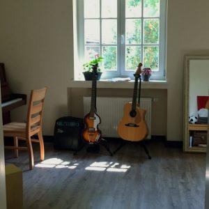 Musikzimmer im Lavia Trauerinstitut
