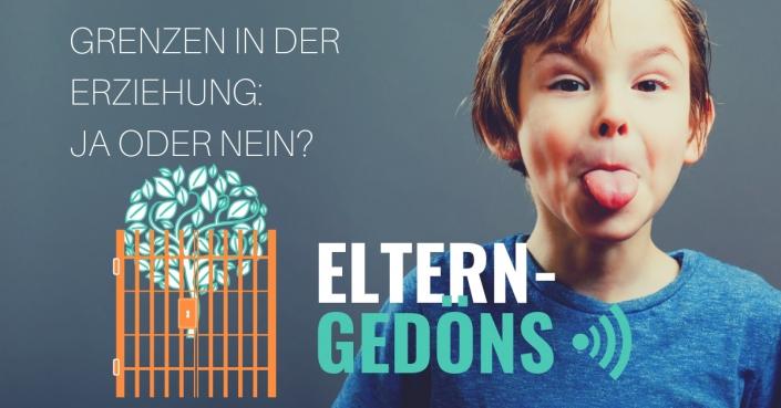 Erziehung: Kindern Grenzen setzen? Ja oder nein? |Eltern-Gedöns-Podcast mit christopher End