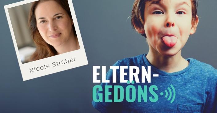 Nicole Strüber zu Risiko Kindheit im Interview im Eltern-Gedöns-Podcast